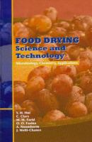 Cover image for Food drying science and technology : microbiology, chemistry, applications