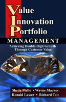 Cover image for Value innovation portfolio management : achieving double-digit growth through customer value