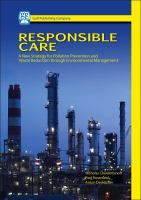 Cover image for Responsible care : a new strategy for pollution prevention and waste reduction through environmental management