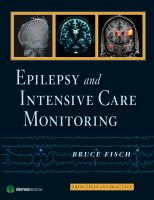 Cover image for Epilepsy and intensive care monitoring : principles and practice