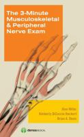 Cover image for The 3-minute musculoskeletal & peripheral nerve exam