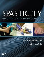 Cover image for Spasticity : diagnosis and management