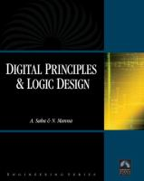 Cover image for Digital principles and logic design