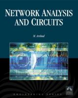 Cover image for Network analysis and circuits
