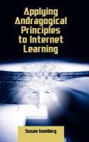 Cover image for Applying andragogical principles to internet learning