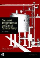Cover image for Successful instrumentation and control systems design