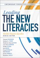 Cover image for Leading the new literacies