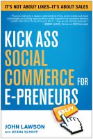 Cover image for Kick ass social commerce for e-preneurs : it's not about likes... it's about sales