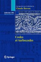 Cover image for Codes et turbocod