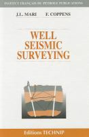 Cover image for Well seismic surveying