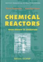Cover image for Chemical Reactors : from design to operation
