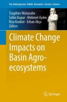 Cover image for Climate Change Impacts on Basin Agro-ecosystems