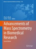 Cover image for Advancements of Mass Spectrometry in Biomedical Research