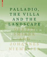 Cover image for Palladio, the villa and the landscape