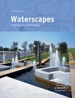 Cover image for Waterscapes : contemporary landscapes