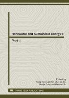 Cover image for Renewable and sustainable energy II : selected, peer reviewed papers from the 2012 International Conference on Energy, Environment and Environmental Protectcion (ICEEP 2012), June 23-24, Hohhot, China