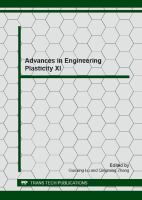 Cover image for Advances in engineering plasticity XI : selected peer reviewed papers from the 11th Asia-Pacific conference on engineering plasticity and its applications (AEPA 2012) Decmber 5-7, 2012, Singapore