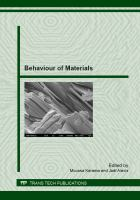 Cover image for Behaviour of materials