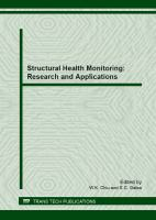 Cover image for Structural health monitoring : research and applications : peer reviewed papers from the 4th Asia-Pacific Workshop on Structural Health Monitoring, December 5-7, 2012, Melbourne, Australia