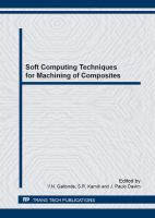Cover image for Soft computing techniques for machining of composites