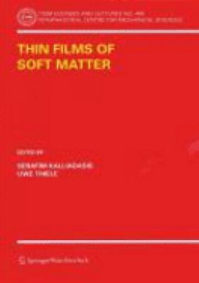 Cover image for Thin films of soft matter