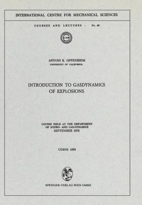 Cover image for Introduction to gasdynamics of explosions