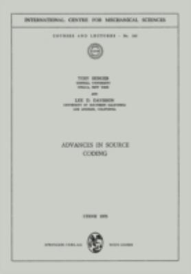 Cover image for Advances in source coding