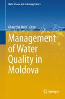 Cover image for Management of water quality in Moldova