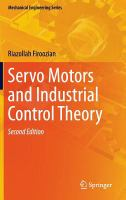 Cover image for Servo motors and industrial control theory