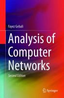 Cover image for Analysis of Computer Networks