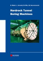 Cover image for Hardrock tunnel boring machines