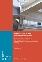 Cover image for Design of joints in steel and composite structures :  Eurocode 3: design of steel structures, part 1-8--Design of joints, Eurocode 4: design of composite steel and  concrete structures, part 1-1--General rules and rules for buildings