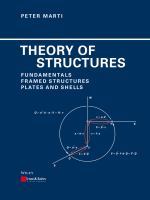 Cover image for Theory of structures : fundamentals, framed structures, plates and shells