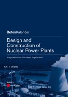 Cover image for Design and construction of nuclear power plants