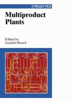 Cover image for Multiproduct plants