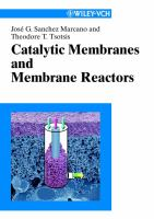 Cover image for Catalytic membranes and membrane reactors