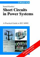 Cover image for Short circuits in power systems : a practical guide to IEC 60 909