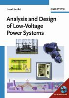 Cover image for Analysis and design of low-voltage power systems : an engineer's field guide