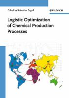 Cover image for Logistic optimization of chemical production processes