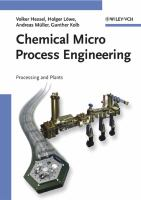 Cover image for Chemical micro process engineering : processing and plants