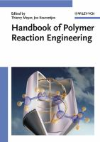 Cover image for Handbook of polymer reaction engineering
