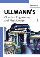 Cover image for Ullmann's chemical engineering and plant design
