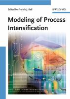 Cover image for Modeling of process intensification