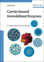 Cover image for Carrier-bound immobilized enzymes : principles, applications and design