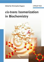 Cover image for Cis-trans isomerization in biochemistry