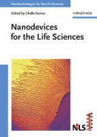 Cover image for Nanodevices for the life sciences