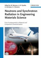Cover image for Neutrons and synchrotron radiation in engineering materials science : from fundamentals to material and component characterization