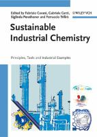 Cover image for Sustainable industrial chemistry