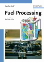 Cover image for Fuel processing : for fuel cells