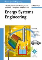 Cover image for Process systems engineering